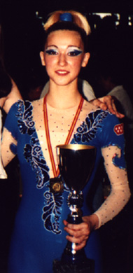Laura García Mateos, National Champion